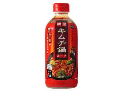 キッコーマン 韓国キムチ鍋スープ 500ml×12個 【送料無料】