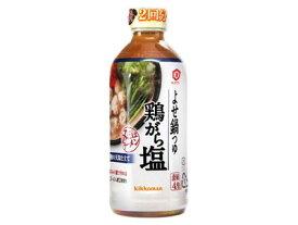 キッコーマン よせ鍋つゆ 鶏がら塩 12本(1ケース)【食品 【送料無料】