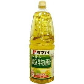 タマノイ ヘルシー穀物酢 ペット 1.8L×6本(1ケース) 【送料無料】