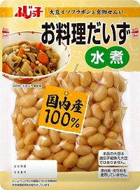 フジッコ お料理だいず水煮 195g×10袋×4ケース 【送料無料】