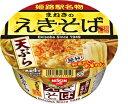 日清食品 まねきのえきそば 天ぷら×12個【近畿限定発売】【関西限定】【送料無料】