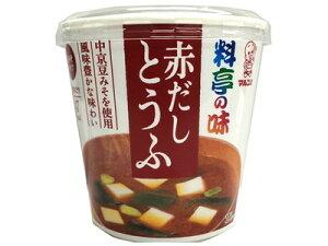 マルコメ カップ料亭の味赤だしとうふ1食×6個 【送料無料】