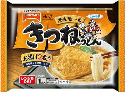 テーブルマーク 讃岐麺一番 きつねうどんX12袋【送料無料】【冷凍食品】