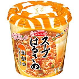 【全商品ポイント5倍 3/5(金)0:00〜3/5(金)23:59】エースコック  スープはるさめ 担担味 31g×6個