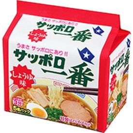 サンヨー食品 サッポロ一番 しょうゆ味 100g 5食入×6個