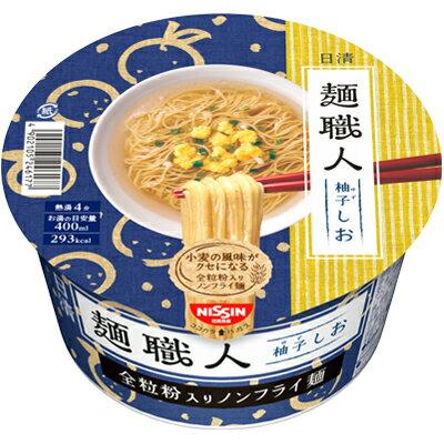 日清食品 日清 麺職人ゆずしお×12個 【送料無料】