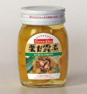 高知缶詰Seven-Star栗甘露煮瓶 165g×24個