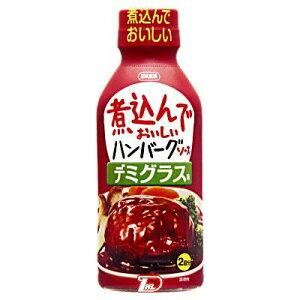 ニホンショクケン 煮込んでおいしいハンバーグソースデミグラス味 340g×12個 【送料無料】