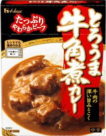 【在庫限り】 ハウス食品 とろうま 牛角煮カレー 中辛 210g ×10個 【賞味期限2020年7月6日】【パッケージは画像と異なる場合がございます】