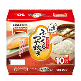 テーブルマーク ふっくらつや炊き (180g×10食)×4個