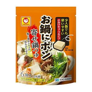 東洋水産 お鍋にポン 寄せ鍋つゆ 30g(5g×6個) ×60袋(2セット) /キューブタイプ /少人数でも使いやすい本格鍋つゆの素 /鶏と魚介エキスの旨み