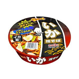 徳島製粉 金ちゃんいか焼そば 129g ×24個(2ケース) /イカ風味 /濃辛ソース