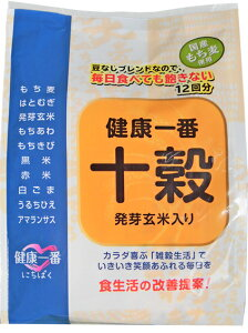 ◆十穀≪発芽玄米入り≫(20gx12袋)雑穀米