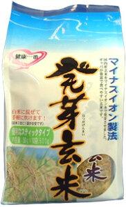 マイナスイオン製法で炊き上がりふっくら!発芽玄米(50gx10本x6個)