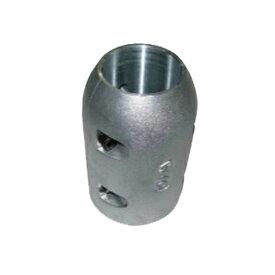 プロペラ保護亜鉛定型 割型ロング 75mm 商品番号:36694 【ユニマットマリン・大沢マリン・ボート用品・船舶】