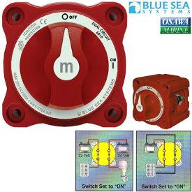 BLUE SEA バッテリースイッチ ミニシリーズ デュアルサーキット 300A(6010) マリン用品 船 ボート ボート用品 ヨット 海 マリン
