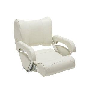 ツイン46 フリップアップシート(AQUALAND) ホワイト 15102 | ボート シート 椅子 白 イス 船 船舶 ボート ボート用品 用品 マリン マリン用品 海