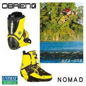 OBRIEN オブライエン ウェイクブーツ NOMAD 4-6 27-29cm 黄色 イエロー ブラック 黒
