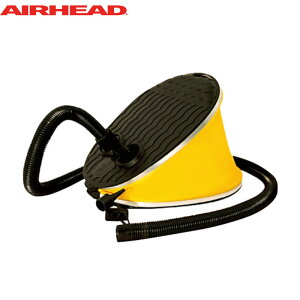 Airhead エアヘッド フットポンプ AHP-F1 | エアーポンプ 空気入れ 浮き輪 ゴムボート ビーチボール ビーチ 海水浴 プール 水遊び 川遊び 海 夏休み お盆休み 旅行