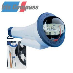 アイリス100 ハンドコンパス 照明付き | iris 航海計器 方位磁針 方角 東西南北 船 ボート 海 マリン用品