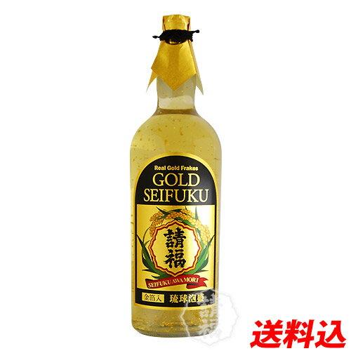 泡盛 請福酒造 金箔入り 二升五合 4500ml樽酒 送料無料 SEIFUKU GOLD 焼酎 マグナムボトル