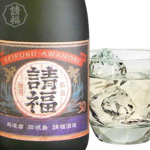 泡盛 請福酒造 5年古酒 オーク 30度 古酒100% 樽酒 720ml 琉球泡盛 焼酎  ギフト