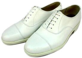 海上自衛隊幹部用白短靴(本皮)【 船員服 海上保安庁 海軍 】