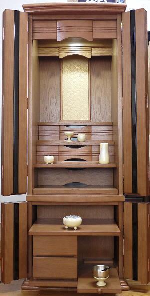 仏壇 モダン仏壇 家具調仏壇 床置き仏壇 ビオラ50号 一部地域を除いて無料設置