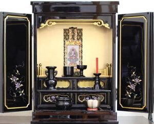 仏壇 ミニ仏壇 金仏壇 上置き仏壇 コンパクトしだれ藤18号