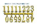 文字符 アラビア数字(BF-201_202_203_204)