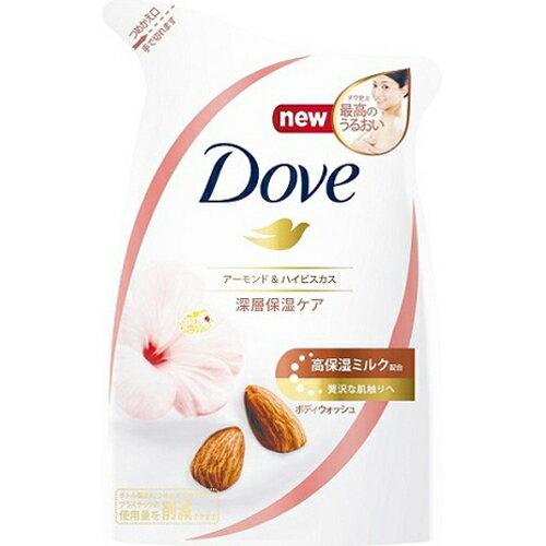 Dove(ダヴ) ボディウォッシュ リッチケア アーモンド&ハイビスカス つめかえ用 340g【3990円以上送料無料】