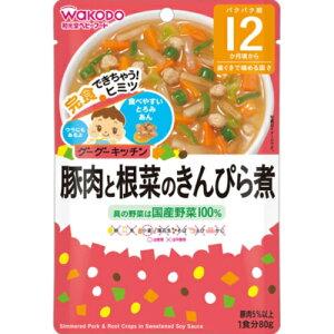 ※グーグーキッチン 豚肉と根菜のきんぴら煮 80g【3980円以上送料無料】