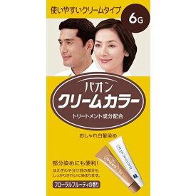 パオン クリームカラー 6G 自然な褐色 [医薬部外品]【3980円以上送料無料】
