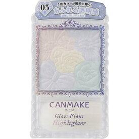 CANMAKE(キャンメイク) グロウフルールハイライター 03クリスタルライト 6.3g【3980円以上送料無料】