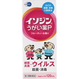 【第3類医薬品】イソジンうがい薬P 120ml【3990円以上送料無料】