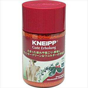クナイプ(KNEIPP) バスソルト グーテエアホールング ウィンターグリーン&ワコルダーの香り 850g【3980円以上送料無料】