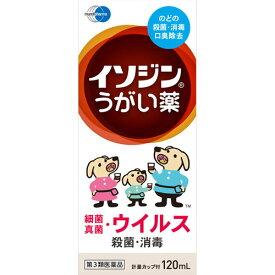 【第3類医薬品】イソジンうがい薬 120ml【3990円以上送料無料】