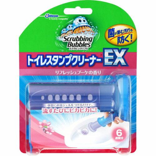 スクラビングバブル トイレスタンプクリーナーEX リフレッシュブーケの香り 本体 38g【3990円以上送料無料】