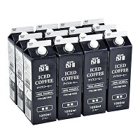 【お取り寄せ】成城石井アイスコーヒー【無糖】1000ml×12本【G】