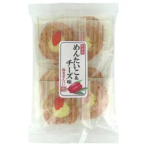 遠州屋 明太子&チーズえびせんべい 10枚
