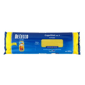ディチェコ #9 カッペリーニ 0.9mm 500g×6個