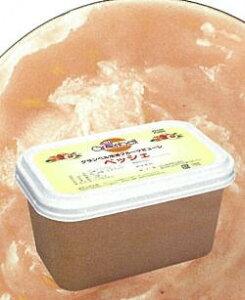 【グランベル】冷凍ペッシェピューレ(10%加糖) 1kg<白桃>
