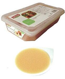 【シコリ】冷凍ペシュブランシュピューレ(10%加糖) 1kg<白桃>