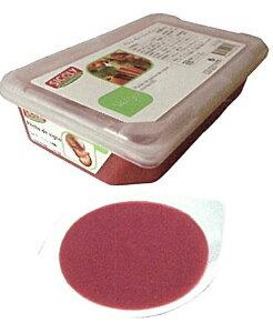 【シコリ】冷凍ペシュヴィーニュピューレ(10%加糖) 1kg<赤桃>