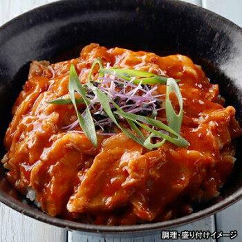 【ヤヨイ】どんぶり屋豚丼の具(キムチ味)1食(110g)【冷凍食品】【】