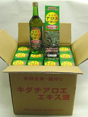 【送料無料】キダチアロエ原液100% 12本セット(キダチアロエエキス)【jo_62】 【】【p10】