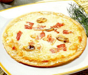 MCC 業務用 ミラノ風 カルボナーラピッツァ(8インチ) 1枚(170g) (エムシーシー食品)冷凍食品 ピザ pizza カルボナーラ 【re_26】 【ポイント10倍】