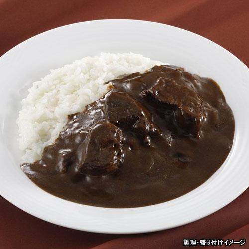 【Miyajima】ブラックビーフカレー 1食(180g)(焦がし玉葱と黒胡椒の黒いカレー)(レトルトカレー)(電子レンジ調理対応)【宮島醤油】【jo_62】【p10】 【ポイント10倍】