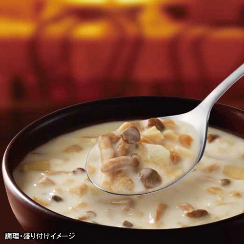 【SSK】シェフズリザーブ レンジでおいしい!ごちそうスープ「3種のきのことチーズのポタージュ」1人前(150g)(電子レンジ調理対応)(スープ)(きのこのポタージュ)【jo_62】 【】【p10_sei ポイント10倍】