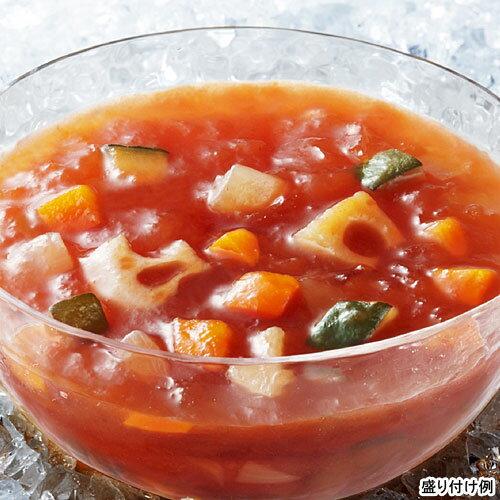 【冷たいスープ】具入りタイプ 【SSK】 シェフズリザーブ冷たい「野菜と根菜を食べるトマトジュレスープ」 1人前(160g) (冷製スープ) 【レトルト食品】【jo_62】【p20_sei】ポイント20倍(20P03Dec16)